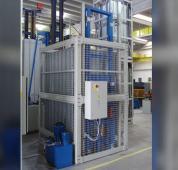 Conserto de elevadores de carga