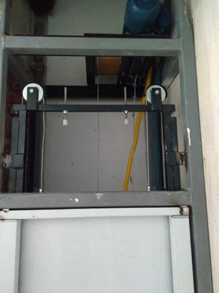 Decoração de elevadores