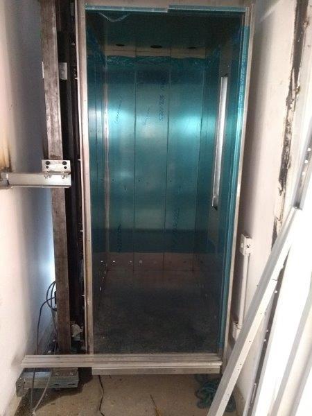 Limpeza de elevadores